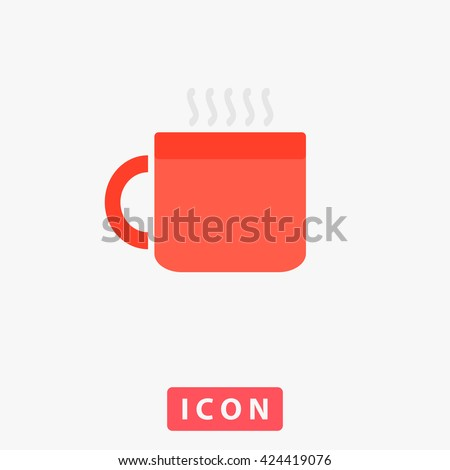 Hot cup Icon Vector. Hot cup Icon Logo. Hot cup Icon Picture. Hot cup Icon Image. Hot cup Icon Graphic. Hot cup Icon Art. Hot cup Icon UI. Hot cup Icon EPS. Hot cup Icon AI. Hot cup Icon Drawing - stock vector
