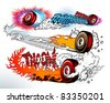 Hot Wheels - stock vector