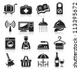 Hotel icons set4. vector eps 10 - stock vector