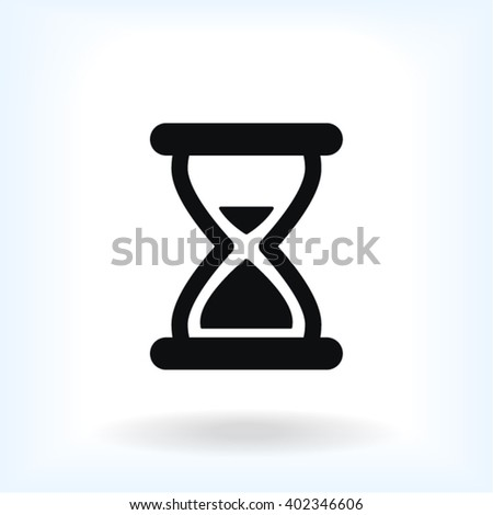 Hourglass Icon, hourglass icon flat, hourglass icon picture, hourglass icon vector, hourglass icon EPS10, hourglass icon graphic, hourglass icon object, hourglass icon JPEG, hourglass icon picture - stock vector