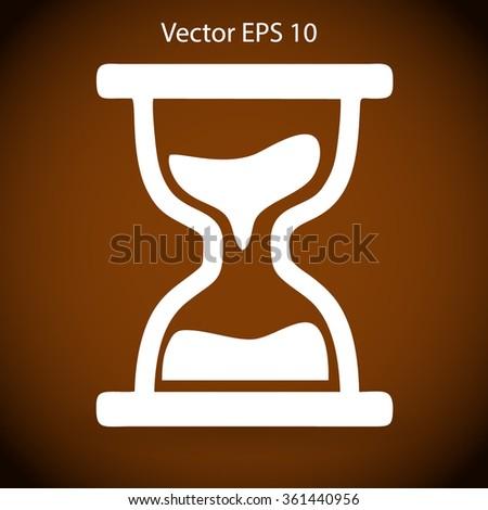 hourglass vector illustration - stock vector