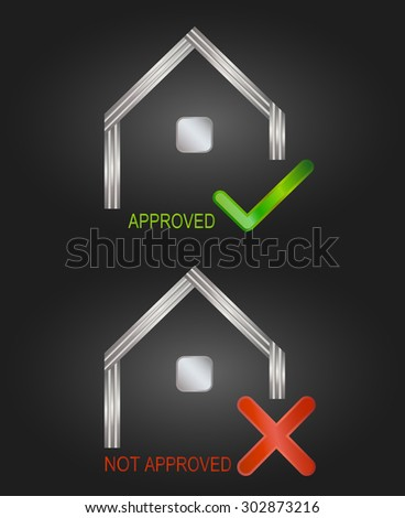 House building real estate vector logo template. Graphic Design Editable For Your Design. - stock vector