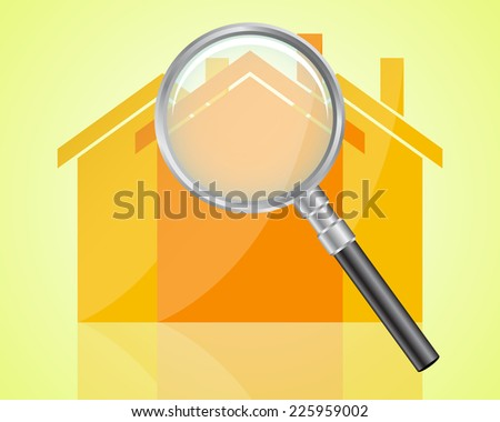 House Hunting - stock vector