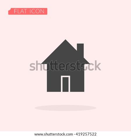 House Icon, House Icon Eps10, House Icon Vector, House Icon Eps, House Icon Jpg, House Icon Picture, House Icon Flat, House Icon App, House Icon Web, House Icon Art, House Icon Object - stock vector
