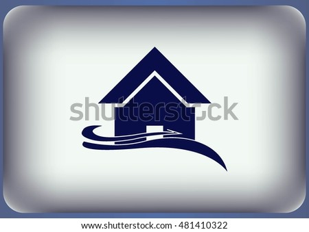 house icon, vector illustration.