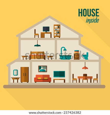 House stock photos royalty free images vectors for House inside images