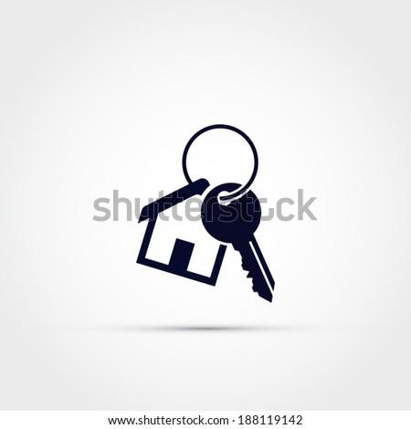 House keys - stock vector