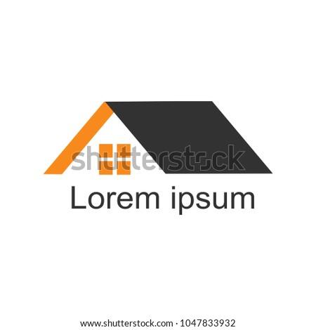 House Logomodern Designvector Illustration Stock Vector 1047833932