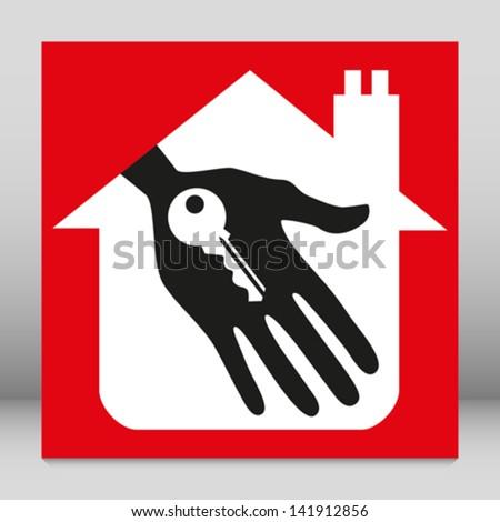 House sale concept. - stock vector