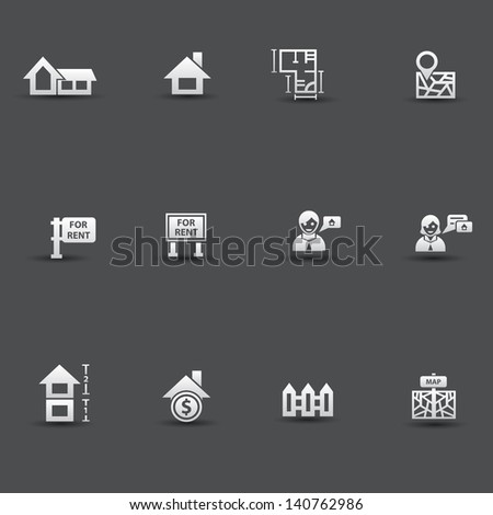 House ,sale icons,vector - stock vector