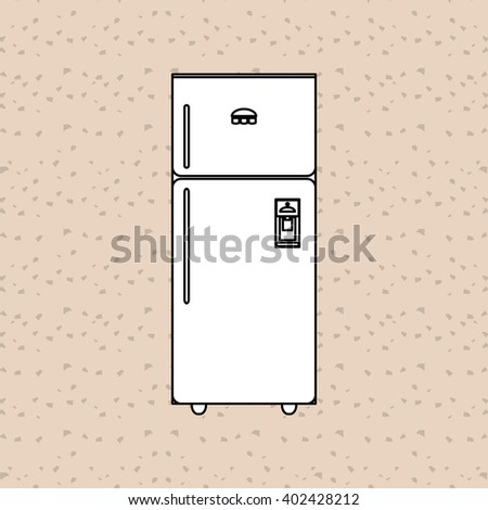 house supplies icon design, vector illustration