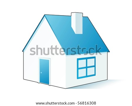 house vector background