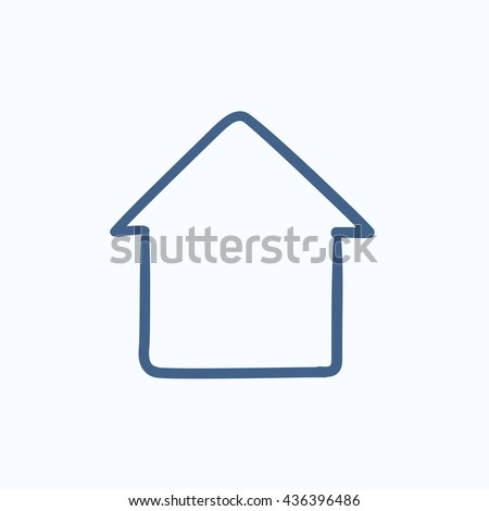 House Sketch Stock Images Royalty Free Images Vectors