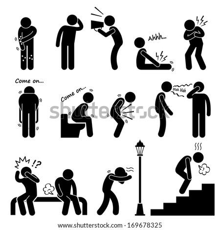 Human Disease Illness Sickness Symptom Syndrome Stock ...