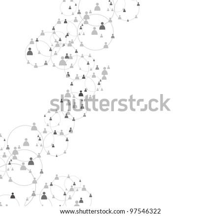 human figures - stock vector