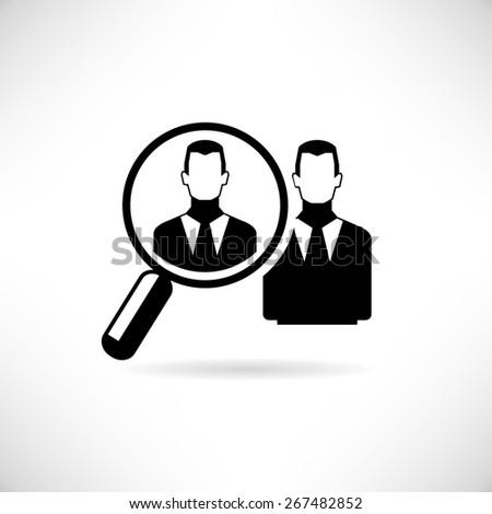 human resource concept - stock vector