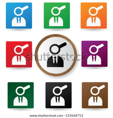 Human resource sign,vector - stock vector