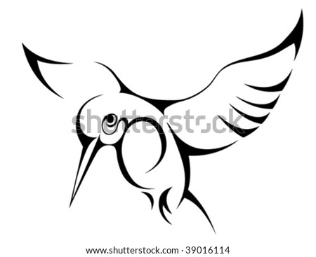hummingbird silhouette stock images royalty free images vectors shutterstock. Black Bedroom Furniture Sets. Home Design Ideas