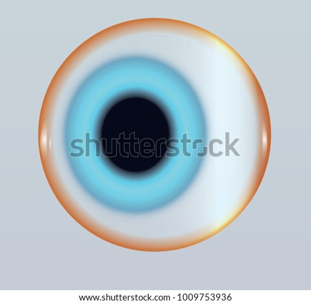 Husky neon blue eye in winter background image vector. Made for writing surface, book illustration, medicine, writing surface, disco party invite, fashion show, halloween festival flayer, lens shop