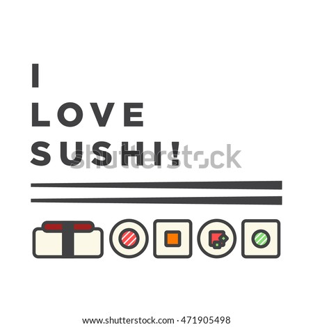 Love Sushi Line Art Flat Style 471905498 moreover Dad jokes moreover 5 further Food Vector Drawing 724168 further Seafood Food Vector Illustration. on salmon and rice cartoon