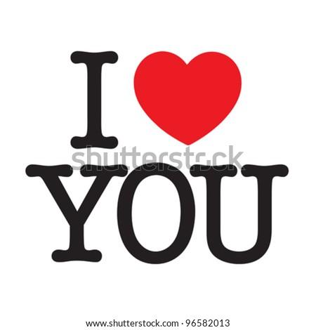 i love u in chinese writing