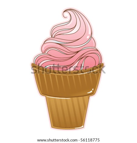 Ice cream - stock vector