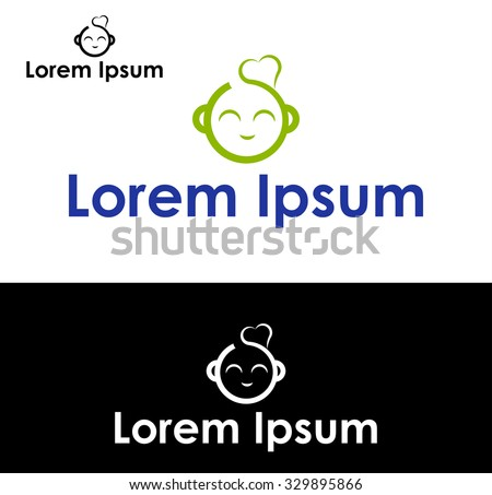 Icon for pediatricians and neonatologists - stock vector