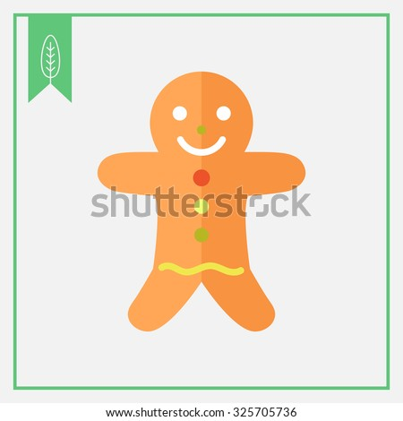Icon of gingerbread man