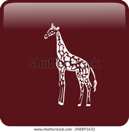 icon of giraffe