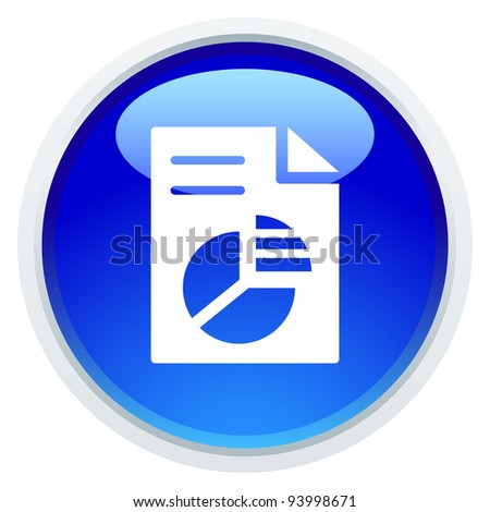 Icon Series - Business report - stock vector