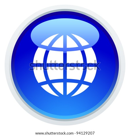 Icon Series - Globe - stock vector