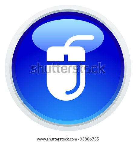 Icon Series - Mouse - stock vector