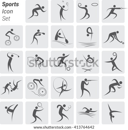 Icon Set - Sports / Fitness / Athletics