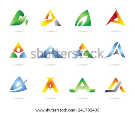 Icon set vector - stock vector