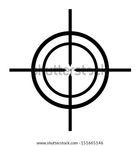 icon sight - stock vector
