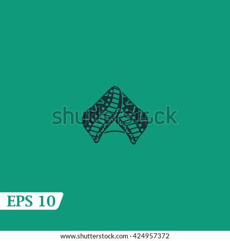 Icon turban. - stock vector