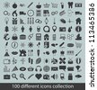 icons collection - stock vector