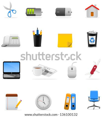 Icons set for your presentation/web page/app!