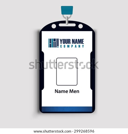 Id  Corporate identity - stock vector
