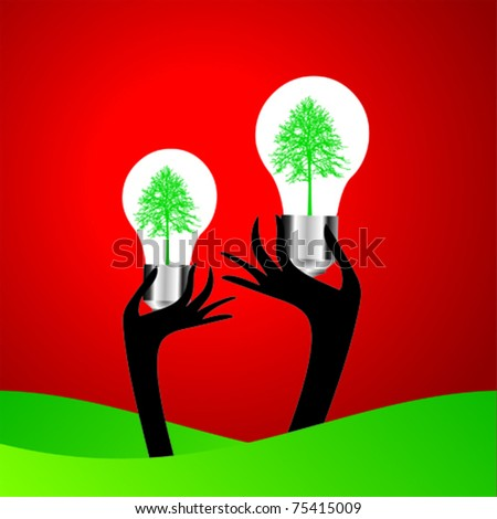 idea bulb - stock vector