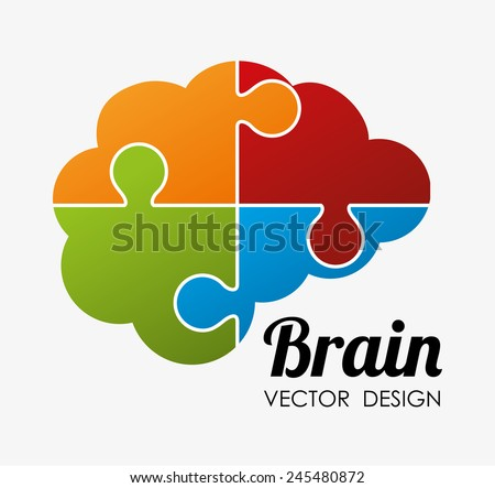 Ideas design over white background, vector illustration. - stock vector