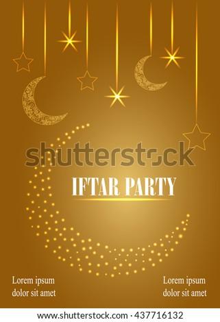Iftar party invitation card design festive stock vector 437716132 iftar party invitation card design festive ramadan greetings ramadan kareem background vector background stopboris Image collections