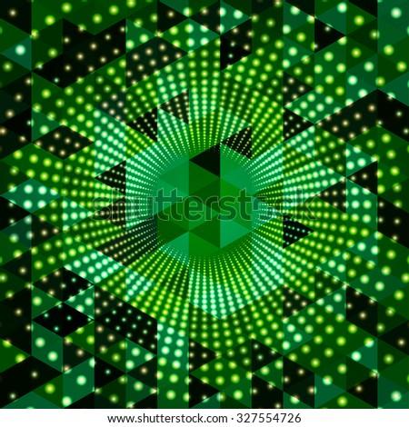 Illumination abstract background. Vector Illustration - stock vector