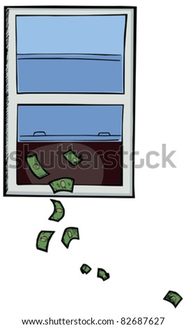 Throwing money away stock photos images pictures for 100 dollar window tinting