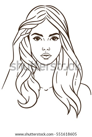 How to draw woman face pdf995