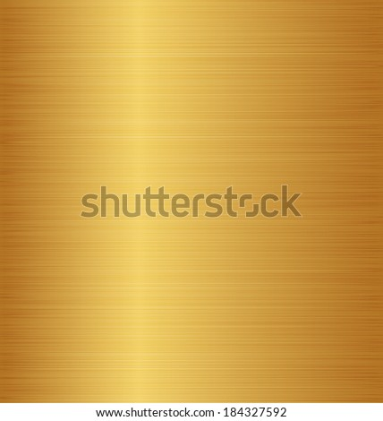 Illustration golden metal texture (copper, brass, bronze) - vector - stock vector