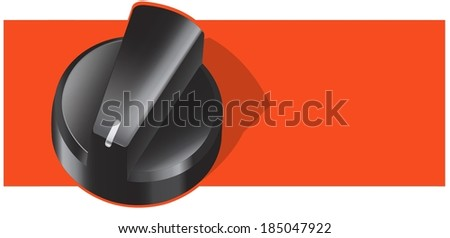 illustration of a gas cooker knob