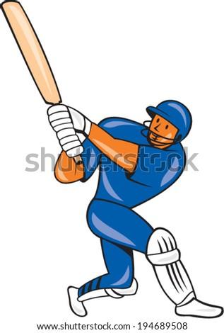 illustration india cricket player batsman bat stock vector 194689508 rh shutterstock com Spiked Baseball Bat Fallout 4 Barbed Wire Baseball Bat