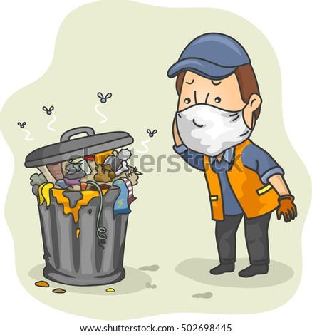 Garbage Collector Clipart