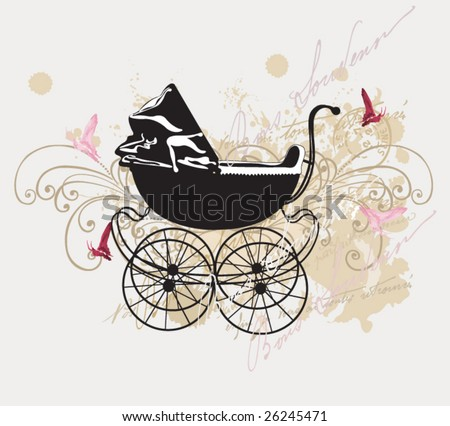 Vintage Baby Carriage Stock Images, Royalty-Free Images ...